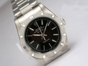 rolex air king black dial watches
